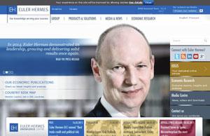 capture d'écran du site Euler-Hermes.com
