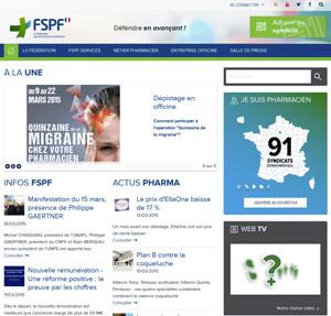 capture d'écran du site fspf.fr