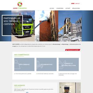 page d'accueil du site gdr-cherpin.fr