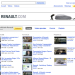 Chaîne YouTube Renault