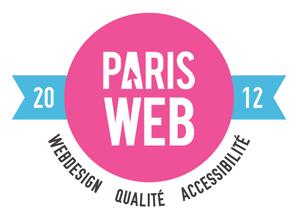 Logo de la conférence Paris Web
